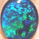 OPAL TRIPLET  JEWELRY STONE FOR PENDANT OR RING 12x10mm