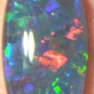 OPAL TRIPLET GEM  FOR JEWELRY PENDANT OR RING    14x7mm