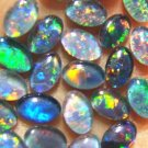 OPAL TRIPLETS FOR JEWELRY STUDS OR RINGS   24 of 6x4 mm