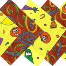 The Ultimate Veggie Tales Party Streamers Fabric Quilt Squares osr5