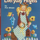 Everyday Angels  Pat Olson Tole Painting Pattern Craft Book by Grace Publication tblhx1