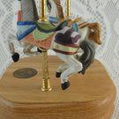 Art Memory Limited Edition Carousel Series 9742 Music Box Horses Ponies tblbs2