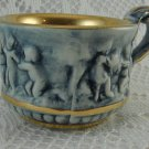 Vintage R Capodimonte Italy Coffee Cup Expresso Luster Gold Lined Liqueur tblhq1