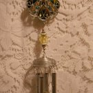 Angel Wind Chime Pewterwork Home Accents Bright Color Design tblct1