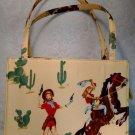 Cowgirl Horse Purse Sequin Beaded Applique Jewelry Fashion Accessory tblmn1