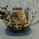 New World Specialties Ceramic The Ark Creamer Animals Cute Collectible tbljt1