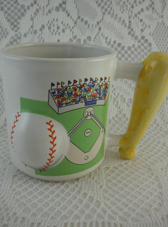 how to make a baseball bat mug