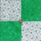 Dainty Little Bunch of Roses Cotton Fabric Craft Squares ZA1