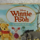 Disney Winnie the Pooh and Friends 12 Crochet Project Set Yarn and Hook tblqw1