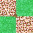 Yummy Starlite Mint Fresh Colorful 100% Cotton Quilt Craft Fabric  Blocks my8