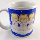 Houston Harvest Ceramic Angel Trio On Clouds Coffee Mug Special Treasure tblcw1