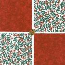 Perky Little Petals Cotton Fabric Craft Quilt Squares KL1