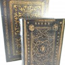 Old World Convenience Book Boxes Collection Set of Two IMAX tblnu1
