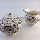 Ceramic Made In England Cream and Sugar Dishes Elegant Collectible tblcw1