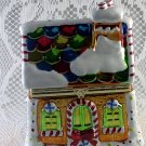 Mr. Christmas Gingerbread House Music Box with Animated Dancers Inside RARE bs1T