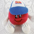 Dole Food Company 1999 Baseball Mascot Plush Toy With Cap Sports Player tblot1