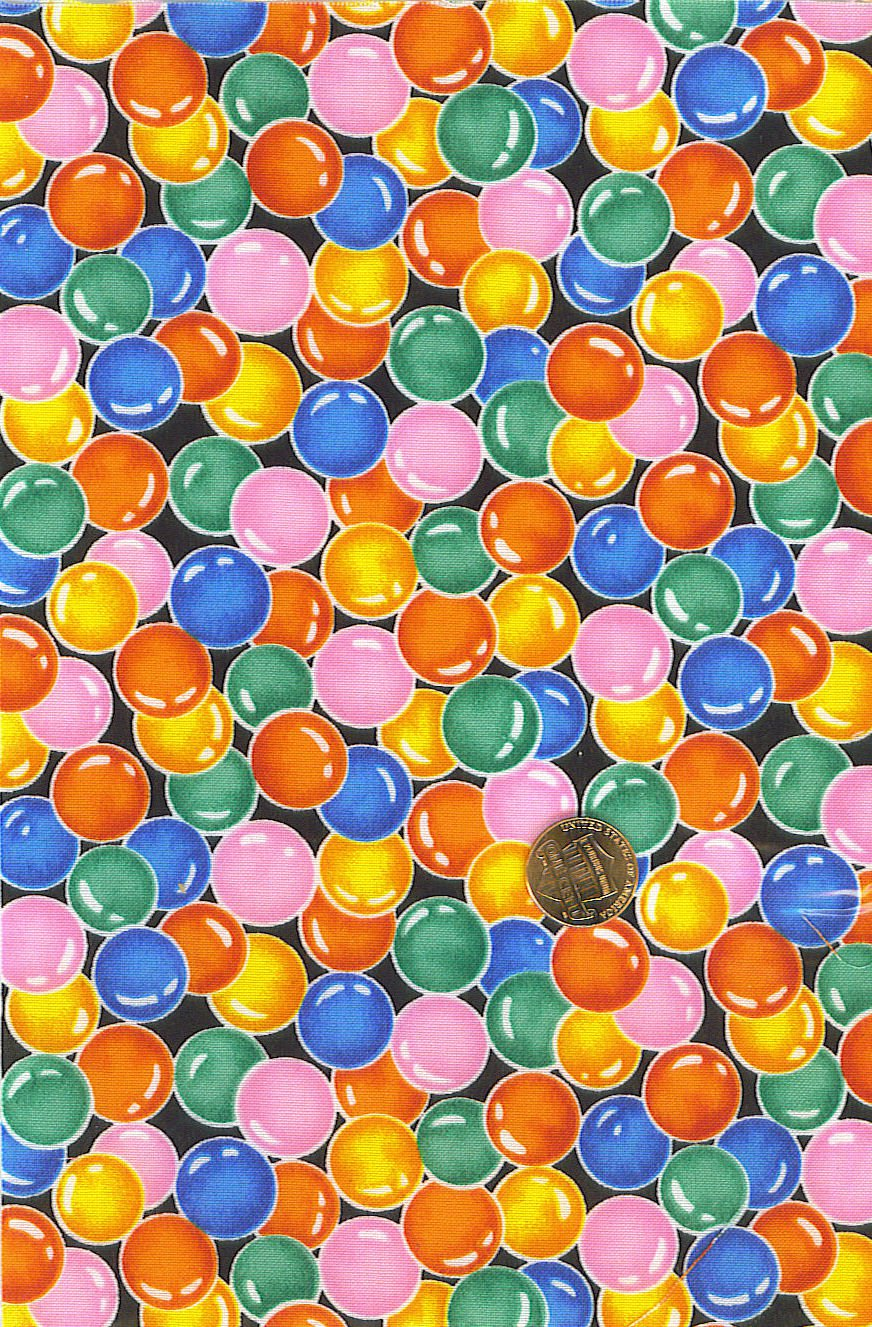 """I Spy 6 by 9 inch Bubbles Bubble Suds Novelty Fabric 6"""" x 9"""" fabric piece"""