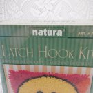 Natura Smiley Face Latch Hook Kit Arts and Crafts tblqw1