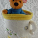 Disney Winnie the Pooh Teacup with Surprise Roo Plush Toy Colorful Milne tblep1