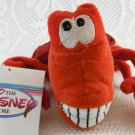 The Disney Store Sebastian Plush Stuffed Toy Mini Bean Bag Collectible tblzz1