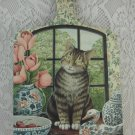 Wilscombe Melamine Very Collectable Chopping Boards Shabby Rose Cat Duck tblhq1