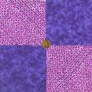 Positive Purp 100% Cotton Fabric Squares  Crafting  Quilting Squares  LP1