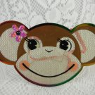 Monkey Face Earring Holder Indoor Wall or Counter Plaque Collectible tblan1