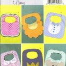 BUTTERICK B4533 Baby  BIBS Flower Bear Crown Shirt 0 31664 39597 3  Designs zds1