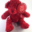 Russ Berrie Red Teddy Bear Adorable Ribbon Forever Yours Plush Toy tblfx1