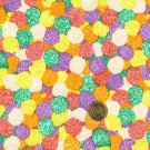 "I Spy 6 by 9 inch Candy Gum Drops Gooey  Novelty Fabric 6"" x 9""  piece"