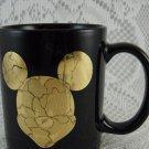Disney Mickey Mouse Ceramic Coffee Mug Gold Emblem Special Treasure tblmn1