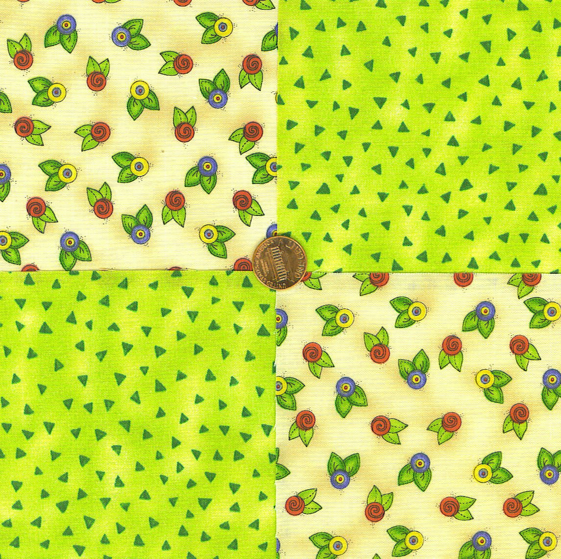 Blossum Beauty  Fabric Squares Sewing 100% Cotton Novelty LP1
