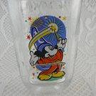 Walt Disney World Mickey Mouse Epcot Wizard Beverage Glass McDonalds 2000 tblwk1