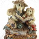 Bunnies Reading a Book Music Box Tune You've Got A Friend Boyds Collection BS2