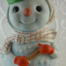 Cheerful Snowman Music Box Theme Frosty the Snowman Christmas Decoration tblbs2