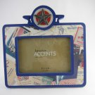 """Patriotic Frame Interior Accents Jubilee Collection 3 1/2"""" x 5"""" Picture tblcw1"""