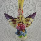 Ceramic Multi Colorful Bird Statue Figurine Collectible Home Decor tblno1