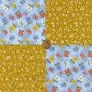 Simple Stash  100% Cotton Fabric Squares Quilt Crafting  Quilting  LP1