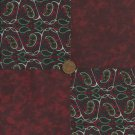 Paisley Passion 4 inch Cotton Fabric Novelty Quilt Craft Squares CK