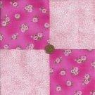 "Roses n Specs Fabric  Quilt Scrapbooking 4"" Squares 100% Cotton  ZE1"