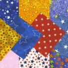 I SPY NOVELTY Star Stars Novelty  100% Cotton Fabric Squares  PO3 4