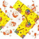 20 4 inch Kids Love Rainbow Pinwheels 100% Cotton Novelty Fabric Sqs osr5