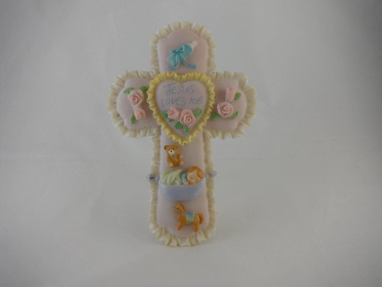Malco Baby Gifts Jesus Loves Me Cross. tblmw1