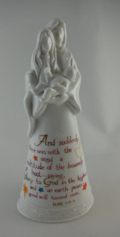 Holy Family Ceramic Statue tblmw1
