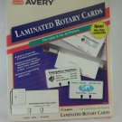 Avery Laminated Rotary Cards for Laser and Ink Jet Printers 5364 tbljr1