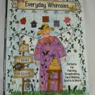 Everyday Whimsies Pattern Book by Trena Hegdahl for Painting by Grace Publications tblhx1