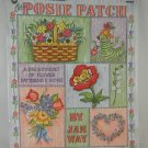 The Posie Patch Pattern Book by Jan Way for Painting by Grace Publications tblhx1