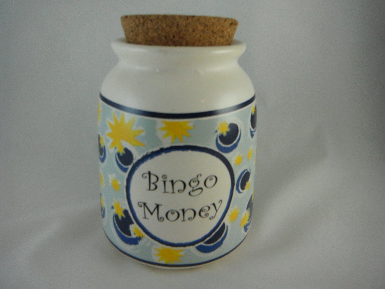 Bingo Money Jar Change Collectible Jar tblhq1