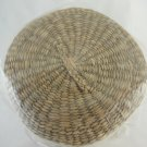 Wicker Basket Set of Five Circular Collectible Home Decor tblhw1