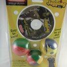 Duncan Juggling Balls CD-ROM and (3) Juggling Balls tblxs3